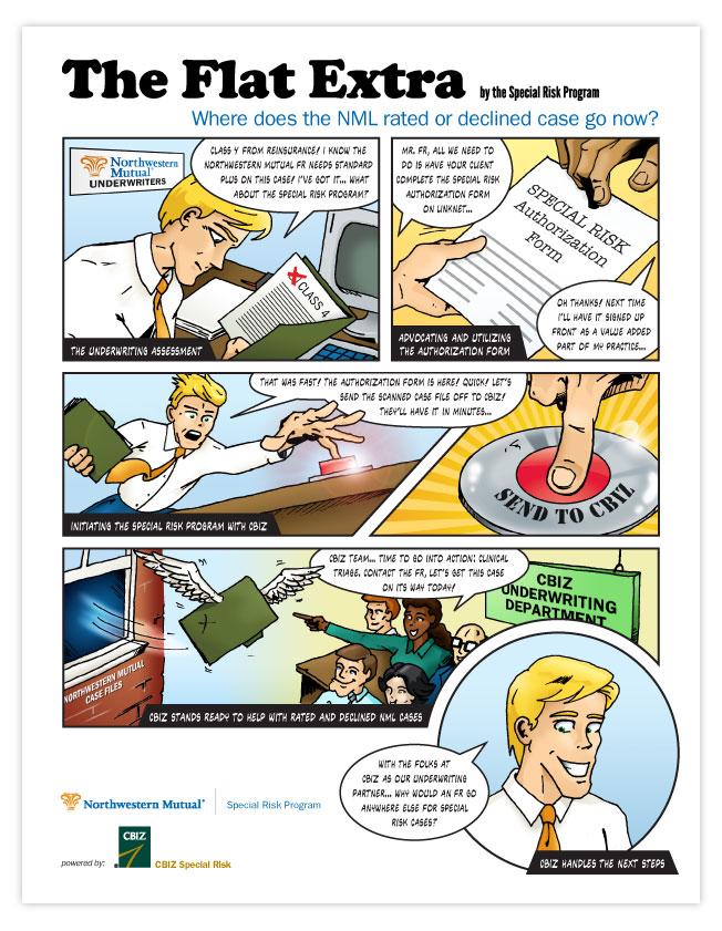 CBIZ Special Risk comic