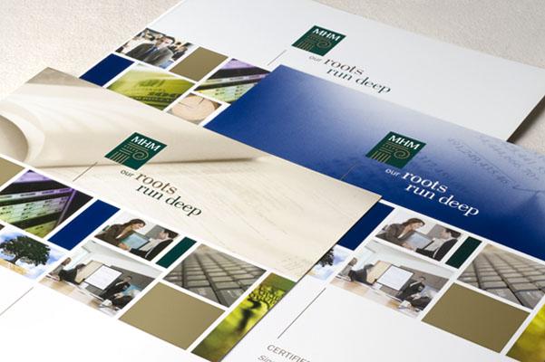 financial services brochures e design