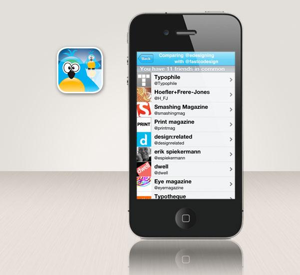 Tweeps iPhone app