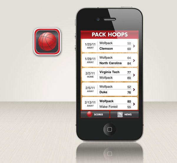 Pack Hoops iPhone app